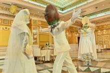 劇場版『キラメイジャー』にラグビー邪面登場 白タキシードでマブシーナに迫る