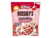 ピンク色のクランチがキュート!「ケロッグ ハーシー チョコビッツ」に新味