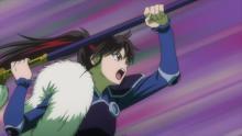 『半妖の夜叉姫』夜叉姫3人、四凶と戦闘でピンチ 【第17話】