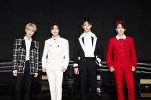 SHINee、2年半ぶりカムバック記念ライブで新曲初披露 メンバーの声を聞けるホットライン開設