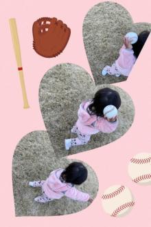 """山本聖子、1歳長女の""""変化球""""練習を公開 夫・ダルビッシュ有のDNA受け継ぐ?"""