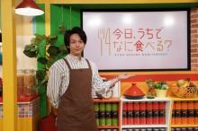 中村倫也、エプロン姿で料理番組初挑戦 ルフィ役の田中真弓と掛け合いも