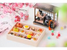 ひな祭りや自宅で楽しむお花見に!華やかな12種の手毬寿し弁当が発売中