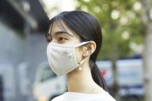 シアバター加工を施したマスクがセルフォードから登場。マスク生活が楽しくなるチェーンやチャームもかわいすぎ