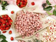 イチゴ×ホワイトチョコのふんわり桜色。ギャレットポップコーンの春限定レシピはオンラインでもゲットできちゃう