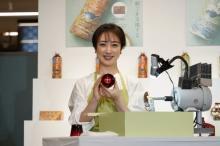 川田裕美、江戸切子グラス作りを体験「難しかったです」