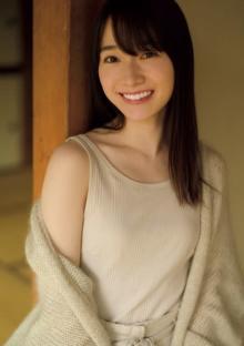 櫻坂46・守屋麗奈『週プレ』初ソログラビア 撮影前日にあこがれの先輩を研究