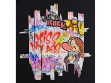 新進気鋭のストリートアーティスト「ワンマイザー」の作品展が期間限定開催