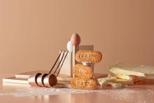 ソールズ ゴーフレットが贈る期間限定のお味。もっちり生地でバタークリームとストロベリーキャラメルをサンド