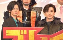 新田真剣佑&渡邊圭祐、信長・松山ケンイチの迫力に「すっごい怖かった」