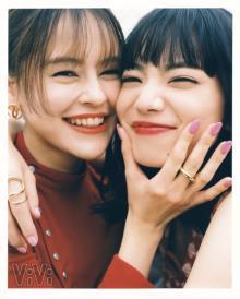 """小松菜奈&emma""""親友コンビ・えまなな""""『ViVi』4年ぶり2ショット 大人の女性に進化"""