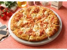 「ピザーラ」に春を告げる桜色のピザが登場!冬限定カニピザは販売終了間近