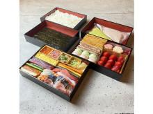 贅沢手巻き寿司&自分で作るモンブランの「アレンジひなまつりBOX」が登場
