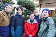 岡村隆史×JO1豆原一成の映画に川尻蓮、川西拓実、木全翔也出演「ぜひ劇場で」