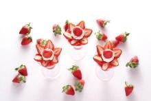 銀座・資生堂パーラーの「苺フェア」最終第3弾がスタート。20周年記念プレート&パフェも同時発売されます