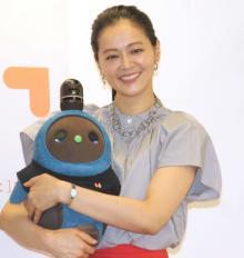 黒谷友香、ロボットと生活で母性 充実の今に「自然と顔がニコニコ」