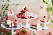 春を彩る華やかメニュー×苺増量DAYもお楽しみ。「J.S. PANCAKE CAFE」でストロベリーフェアが開催