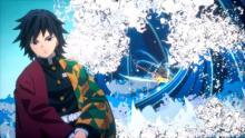 """『鬼滅の刃』対戦ゲーム、冨岡義勇が参戦 アクション映像公開で迫力の""""水の呼吸"""""""