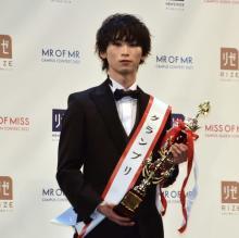 ミスターキャンパス日本一は立教大学4年の鈴木廉さん 憧れはJO1「同じ舞台に立ちたい」
