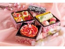おうちで春を満喫しよう!宝石箱のようなお菓子の重箱が季節ごとに登場
