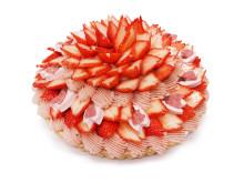 春爛漫!「カフェコムサ」に美しい日本の桜を表現したケーキ2種が登場