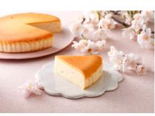 卒入学や新生活スタートの贈り物に!季節限定「御用邸さくらチーズケーキ」
