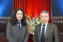 ピース又吉、東大教授との対談に刺激「新しいことが生まれる」