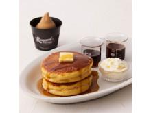 コーヒー風味香る!王道の味わいの「クラシックパンケーキ」が発売中