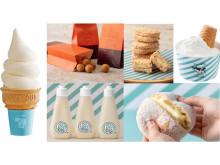 HANERUとMILKがコラボ!目玉商品「ミルキークリームパン」も登場