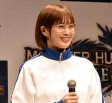 本田翼「フルフルの復活がうれしい!」 『モンハンライズ』イベントで興奮