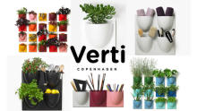 北欧発のシンプルデザインに一目惚れ!グリーンも飾れる壁掛け収納インテリア「VertiPlants」が気になります