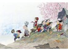 京王百貨店新宿店で「~新しい風~ 中島潔 絵画展」が初開催