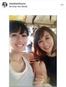 谷村奈南、母親との2ショット公開「そっくり」「若くて美しすぎるママ」