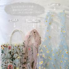"""人気の""""チュールバッグ""""はどれがいいの?ZARA・Francfranc・Latticeのアイテムを比較しました!"""