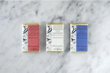ASIAN RAD TEAにローチョコレートが登場。3種のティーフレーバー×ギフトにぴったりなパッケージです