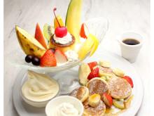 季節のフルーツ&世界各国のパンケーキを楽しむ「世界のパンケーキフェス」