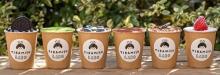 テイクアウトしやすいカップ入りの韓国スタイル。原宿にティラミス専門店「ティラミスラボ」がオープンします