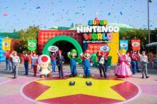 USJ任天堂エリア開業、ゲスト飛び跳ね興奮「WE ARE MARIO!」「ゲームの世界に入れた!」