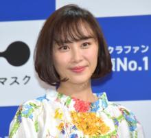 山口もえ、田中裕二は元気いっぱい 仕事先のお菓子は撤去も「ちょっとは与えてくれたらうれしい」