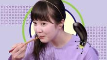 本田紗来&白鳥玉季、Eテレ料理番組で嫌いな食べ物に挑戦