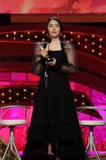 【日本アカデミー賞】長澤まさみが最優秀主演女優賞 悲願の初受賞に涙「これからも誠実に」