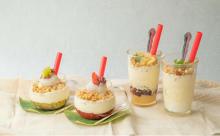 CheeseTableに春限定「飲めるチーズケーキ」がお目見え。大福トッピングの和フレーバーにほっこりしちゃう