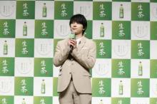 吉沢亮、セリフなしCMに「難しい」 表情だけで商品アピールも無理せず笑顔
