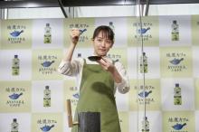 吉岡里帆、エプロン姿で3つの初体験 プロの絶賛に喜び「ここ最近で一番褒められた」