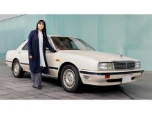 伊藤かずえさんの愛車「シーマ」を日産がレストア