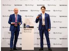 ネスプレッソ「#東京コーヒー時間」発表会で玉木宏さんがコーヒー愛を語る