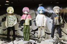 イラストレーター田中かえ、阪急メンズのエントランス・デコレーションとコラボ