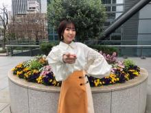 斉藤朱夏、『ズムサタ』4月のお天気キャスターに就任「緊張で胸が張り裂けそう」