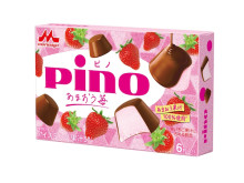 あまおう果汁100%を使用!期間限定フレーバー「ピノ あまおう苺」が登場