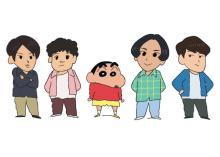 マカロニえんぴつ、『クレヨンしんちゃん』漫画&TVアニメに登場